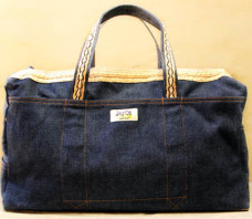 Blue Denim Bag