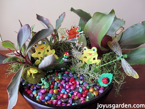 miniature gardening for kids