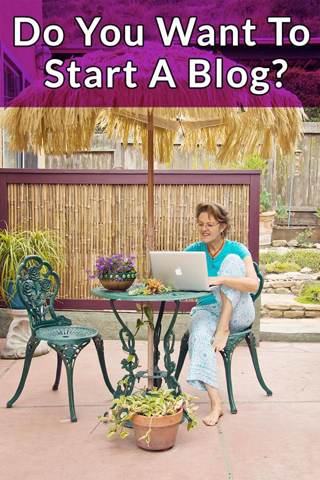 How to start a gardening blog