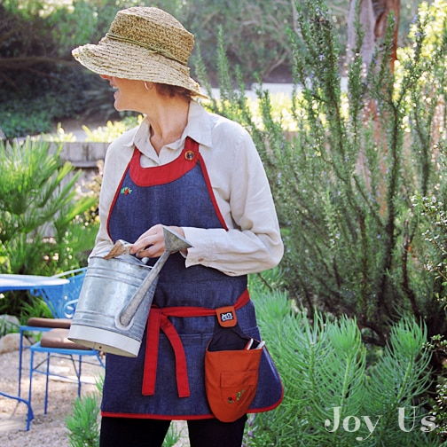 The Edna Apron + LadyBug Tool Pouch