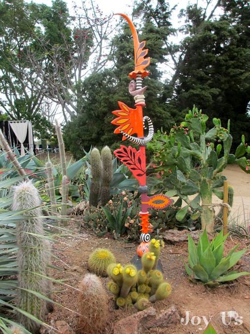 Cacti and Succulents in the Desert Garden