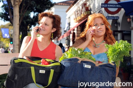 The Joy Us Garden Denim Gardening Bag