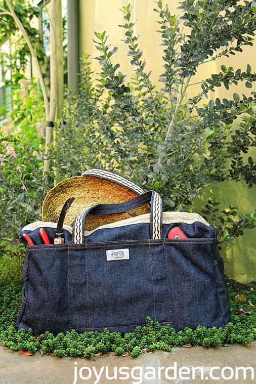 LadyBug Bag, garden bag.
