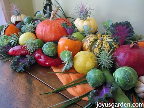 I Ate My Thanksgiving Centerpiece!