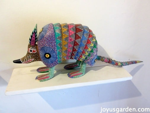 Mexican Art Armadillo