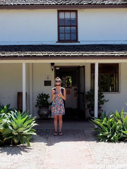 Casa Dorlores front yard