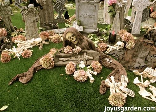 The garden graveyard
