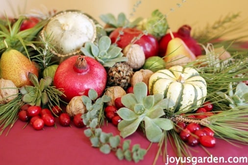 edible Christmas centerpieces