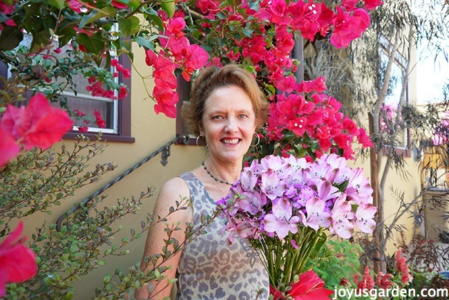 nell Foster Gardening expert bougainvillea tips and tricks