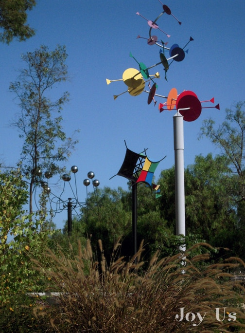 Sculptures at Alta VIsta Garden