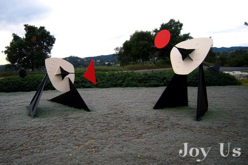Gorgeous sculpture at The Getty Center