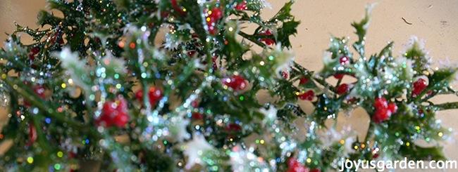 A Holly Berry Vine Wreath Christmas Ornament