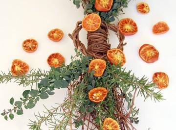 Herb Citrus Swag