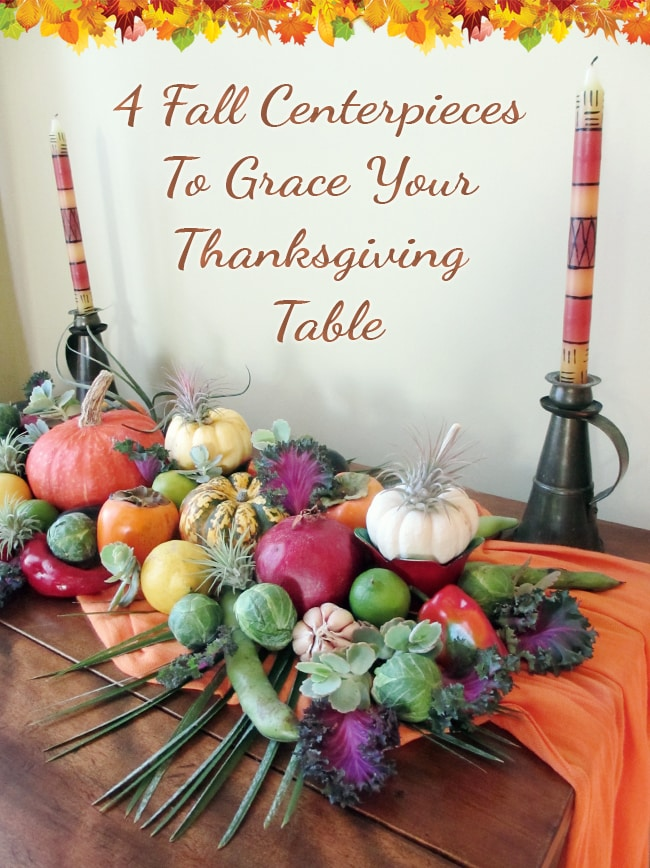 Fall Centerpiece Ideas & Inspirations To Grace Your Thanksgiving Table