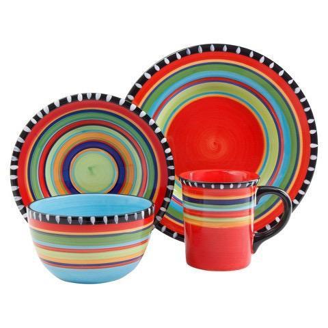 Pueblo melamine dinnerware