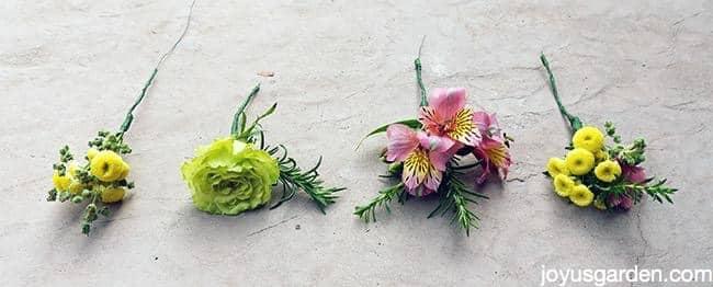 Bundles and herbs