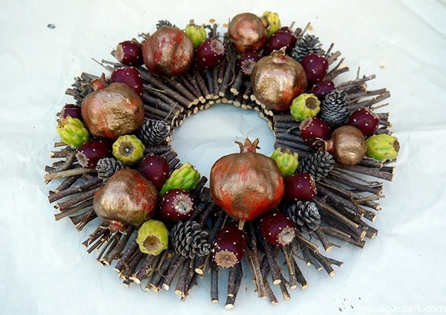 Gorgeous fall wreath