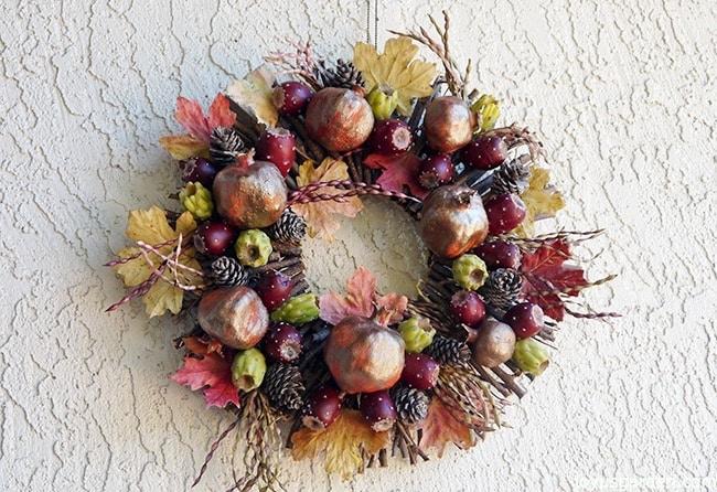 A Fall Wreath Creation, Sonoran Desert Style