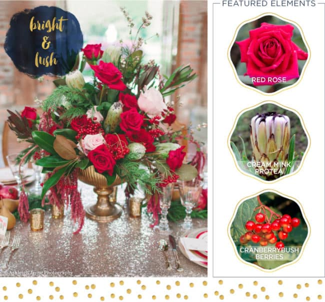 Holiday inspiration for your centerpieces