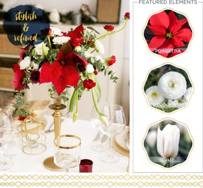 Centerpieces for the holidays