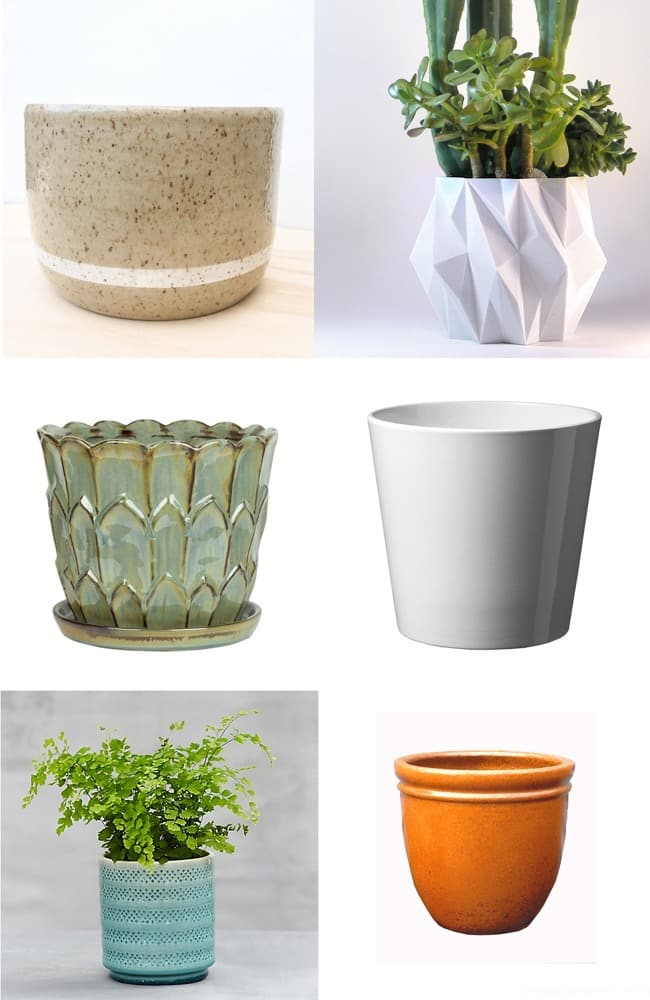 Delightful Decorative Tabletop Planters For Houseplants