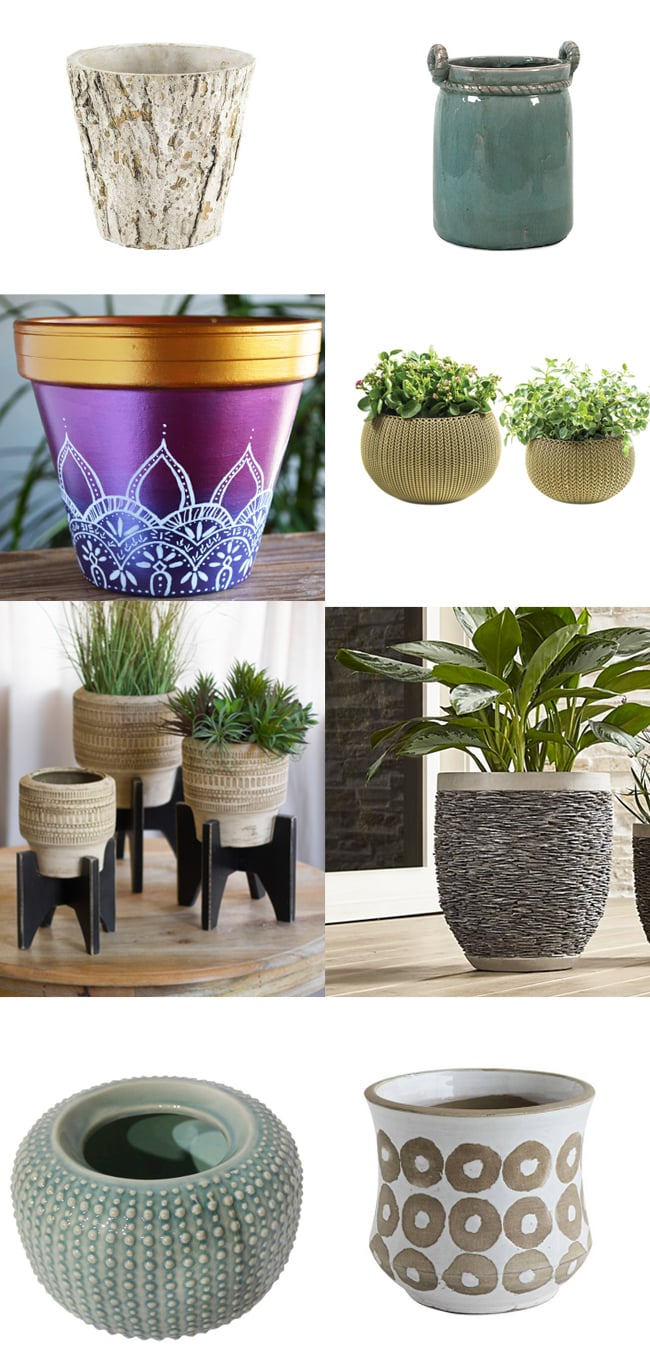 Decorative Tabletop Planters For Houseplants