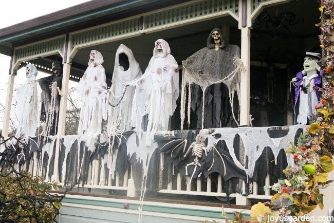 The ghosts in daytime