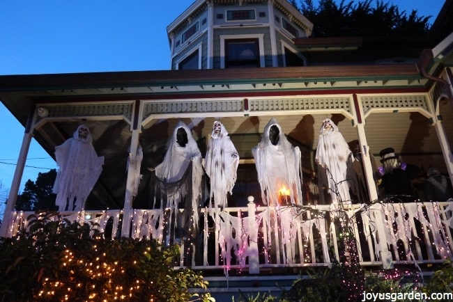 Ghosts on the front porch