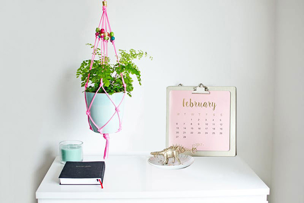 The Ultimate DIY Hanging Planter