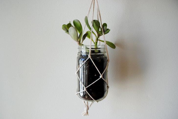 DIY-hanging-planter