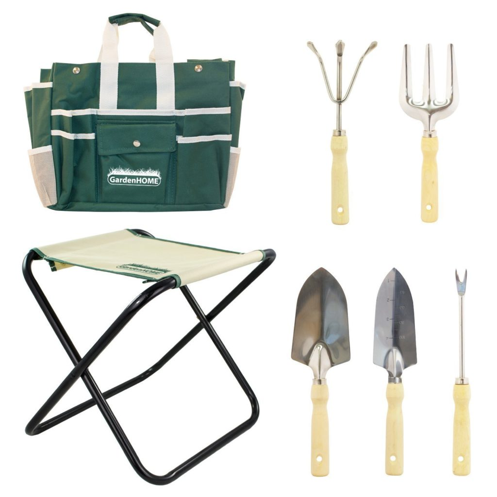 a complete tool kit for gardening