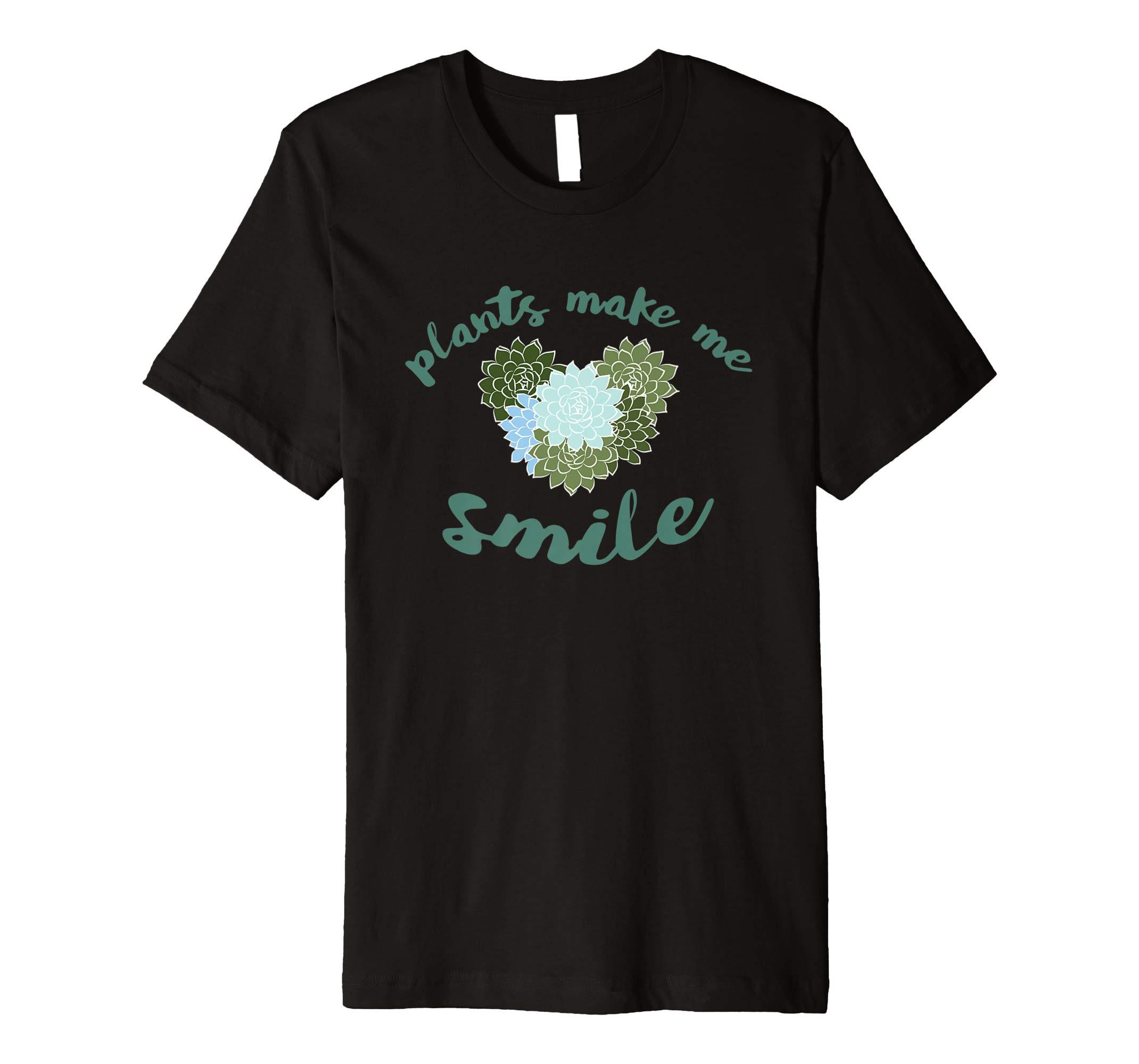 Plants Make Me Smile T-Shirt