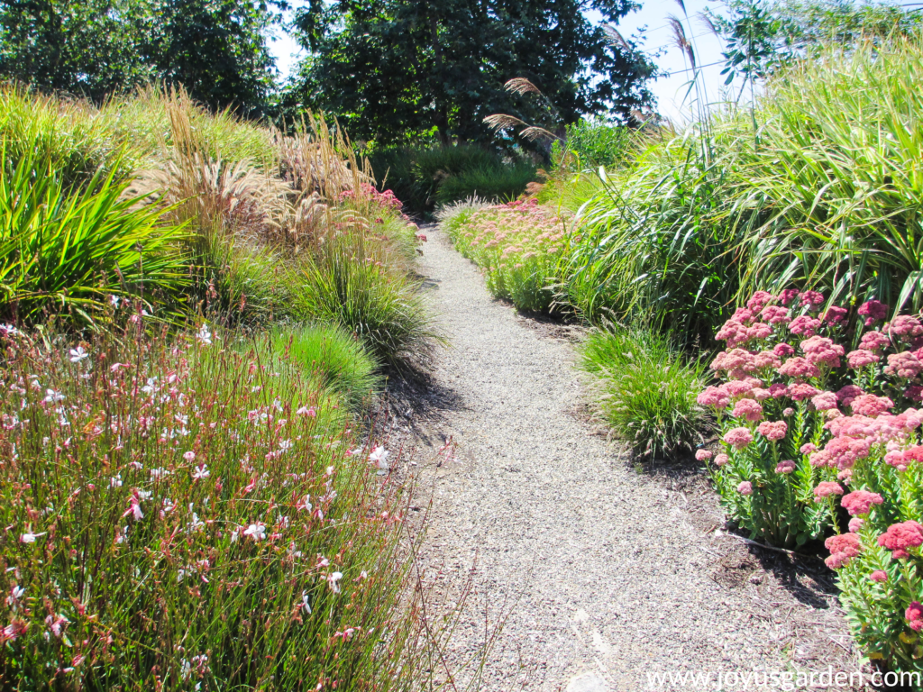 Gorgeous gravel garden path