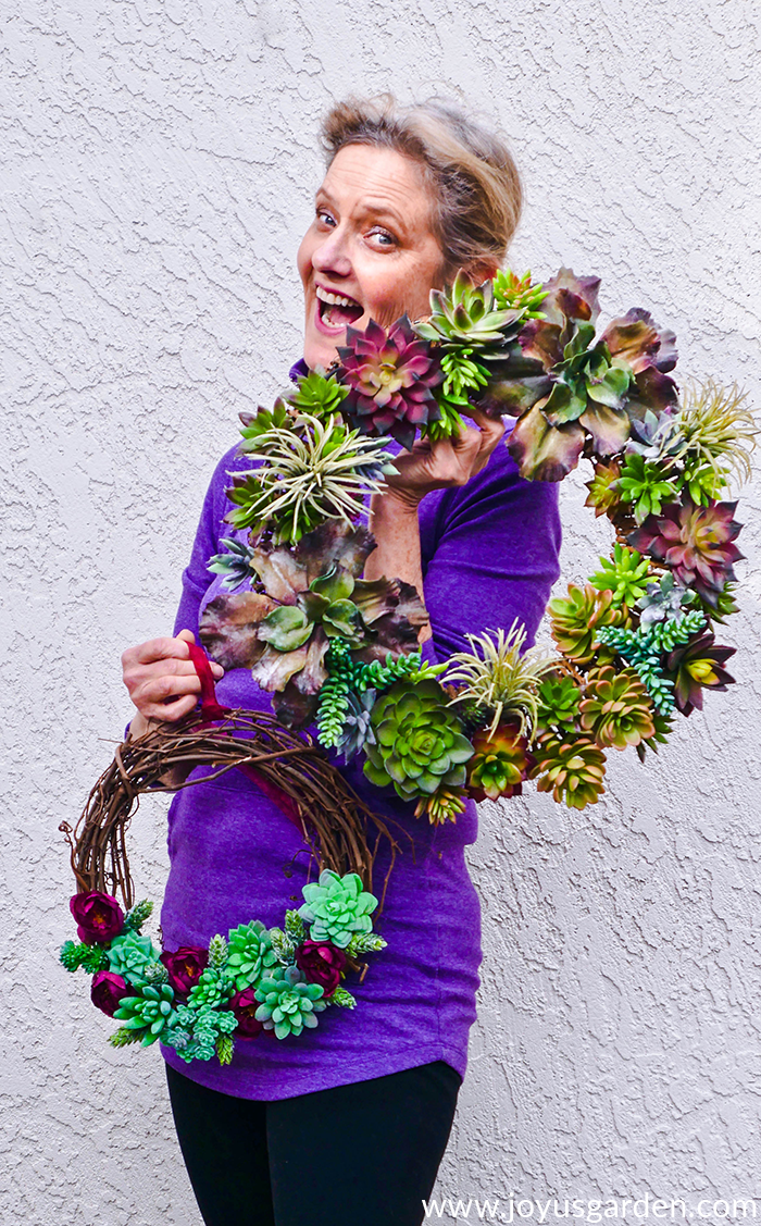 3 Ways To DIY A Faux Succulent Wreath