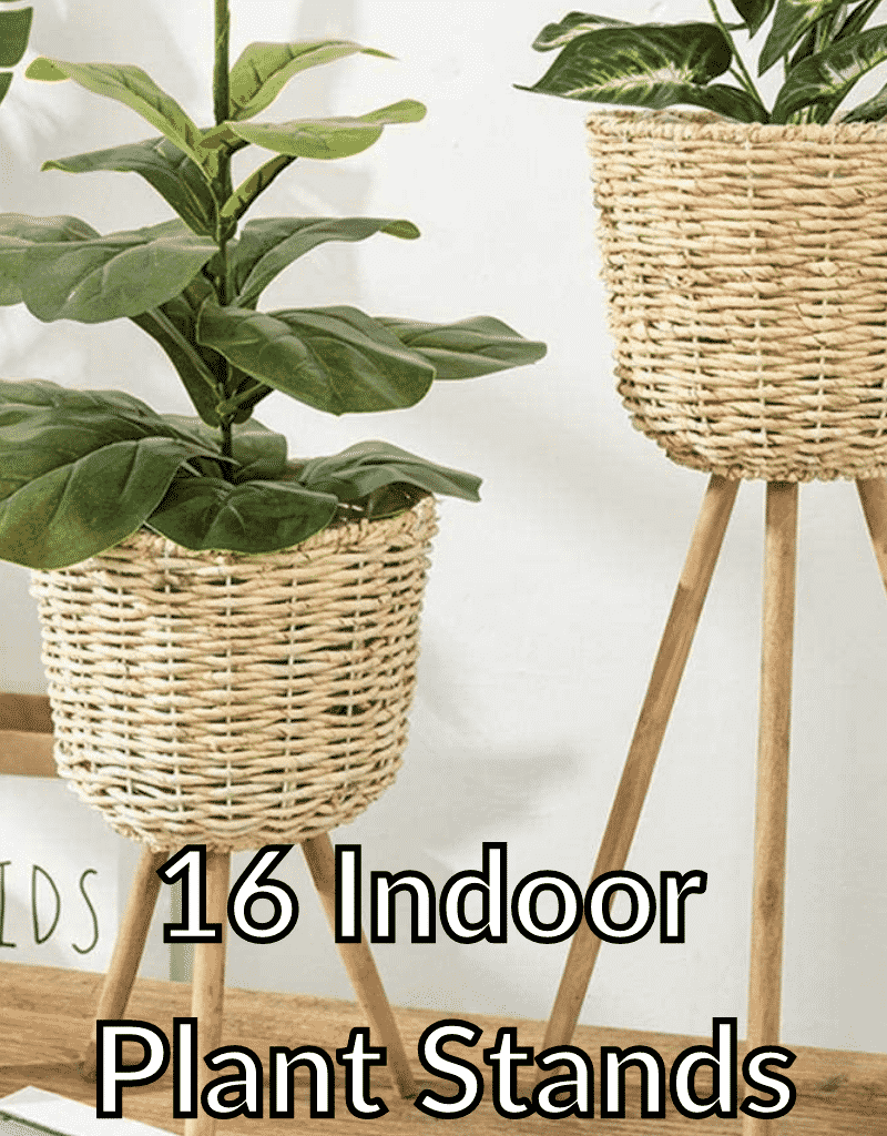 2 basket plant stands the text reads 16 indoor plant stands